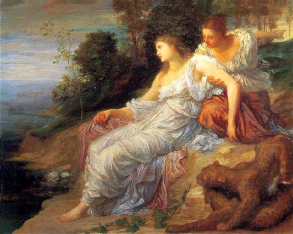 Ariadne on the Island of Naxos, George Frederic Watts