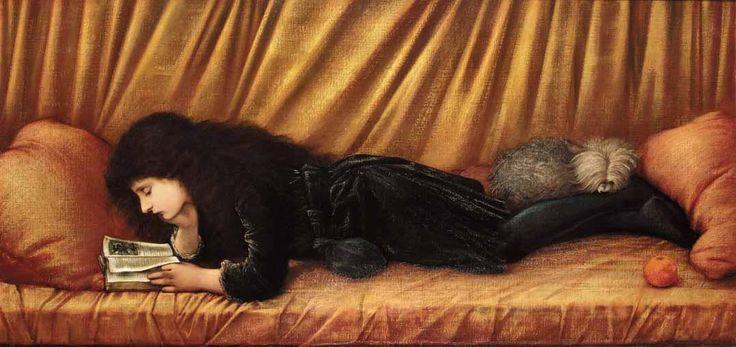 'Portrait of Katie Lewis', Sir Edward Burne-Jones