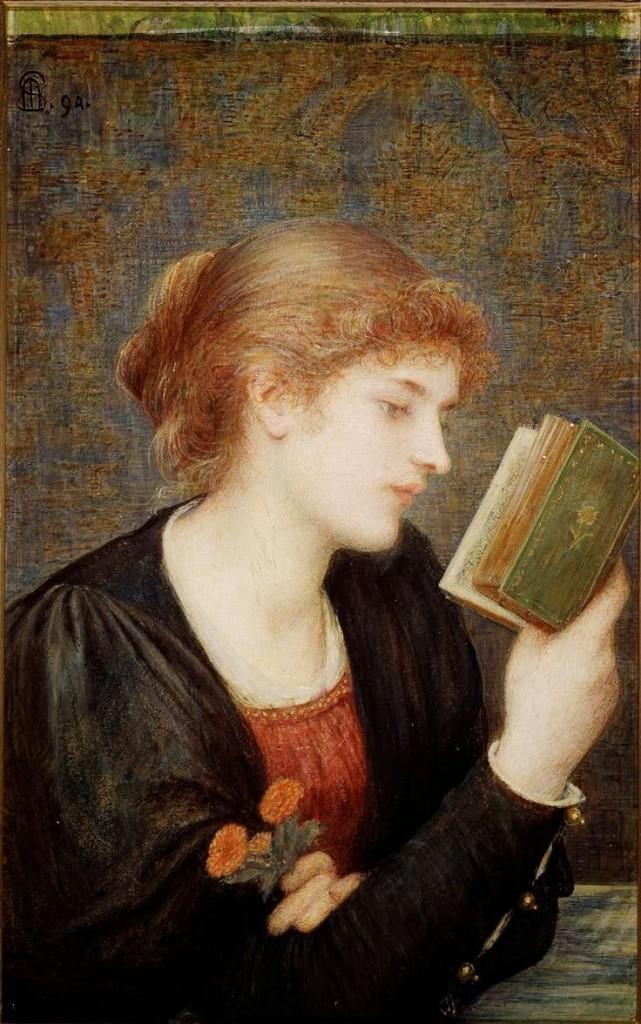 'Love Sonnets'. Marie Spartali Stillman