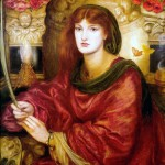 'Sibylla Palmifera', Dante Gabriel Rossetti. Model: Alexa Wilding