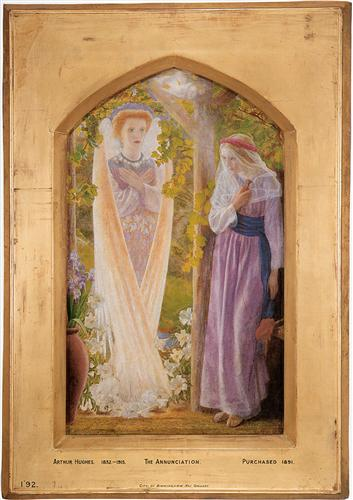 'The Annunciation', Arthur Hughes