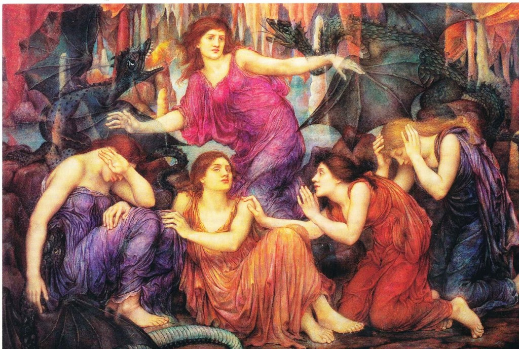 The Captives, Evelyn De Morgan