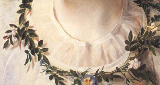 'Perdita' (detail), Frederick Sandys