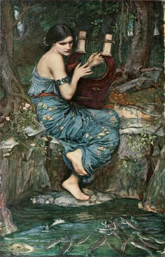 'The Charmer', Sir John William Waterhouse