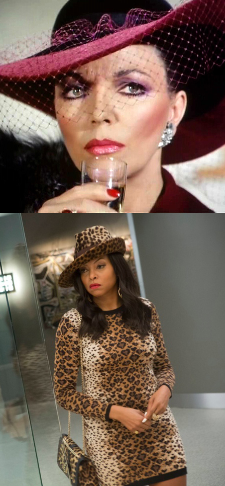 Alexis Carrington to Cookie Lyon, we have our modern Sidonias and they make great drama.