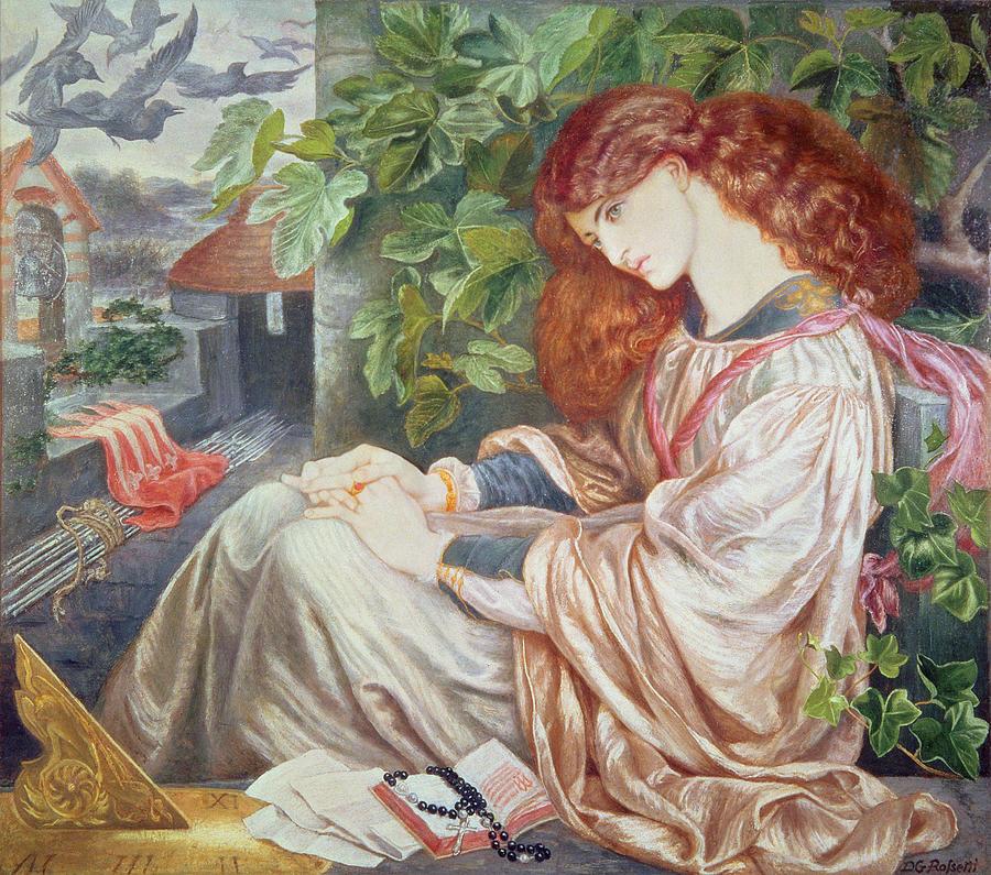 'La Pia de Tolomei', Dante Gabriel Rossetti