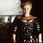 "1999 Miranda Richardson Stars In The Movie ""Sleepy Hollow."" directed by Tim Burton  (Photo By Getty Images)"