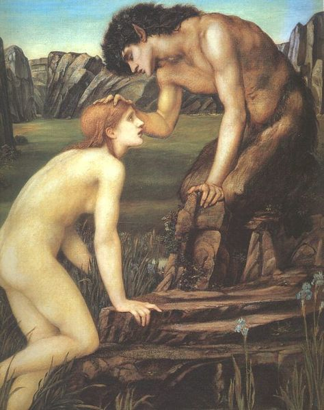 Pan and Psyche, Sir Edward Burne-Jones