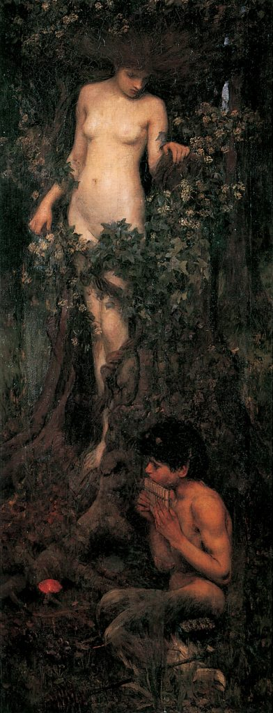 'A Hamadryad', John William Waterhouse