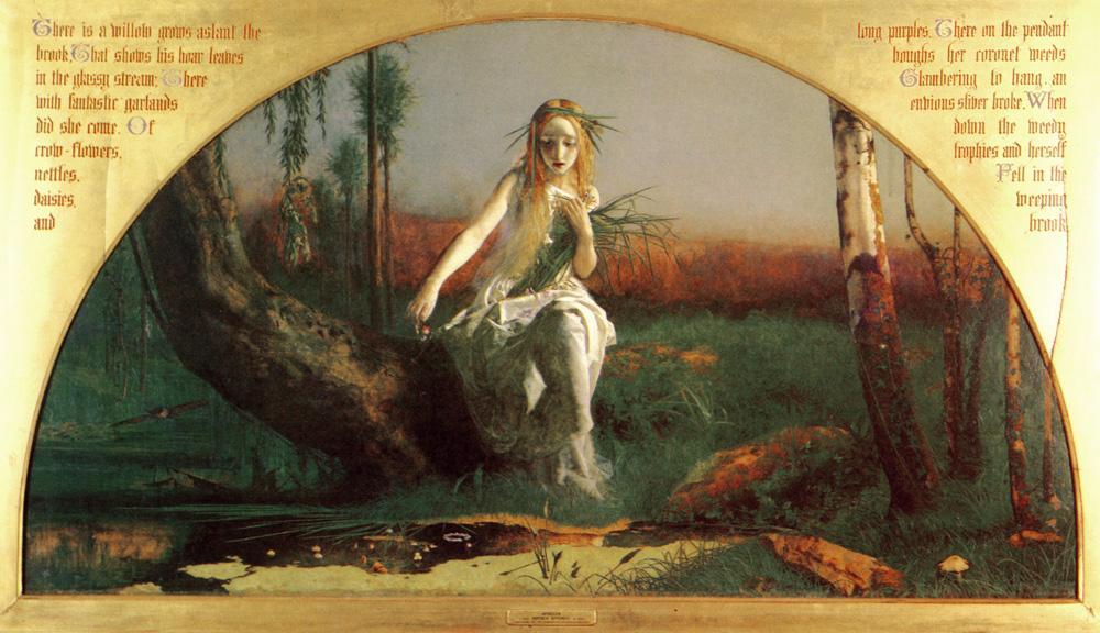 Ophelia, Arthur Hughes