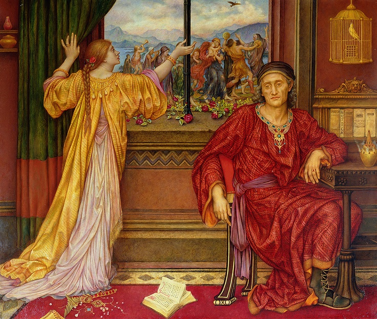 The Gilded Cage, Evelyn De Morgan