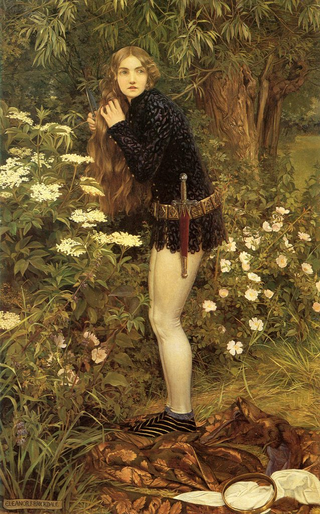 The Little Foot Page, Eleanor Fortescue Brickdale