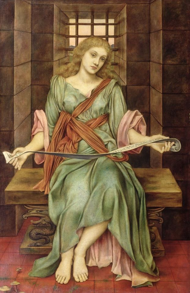 The Soul's Prison House, Evelyn De Morgan