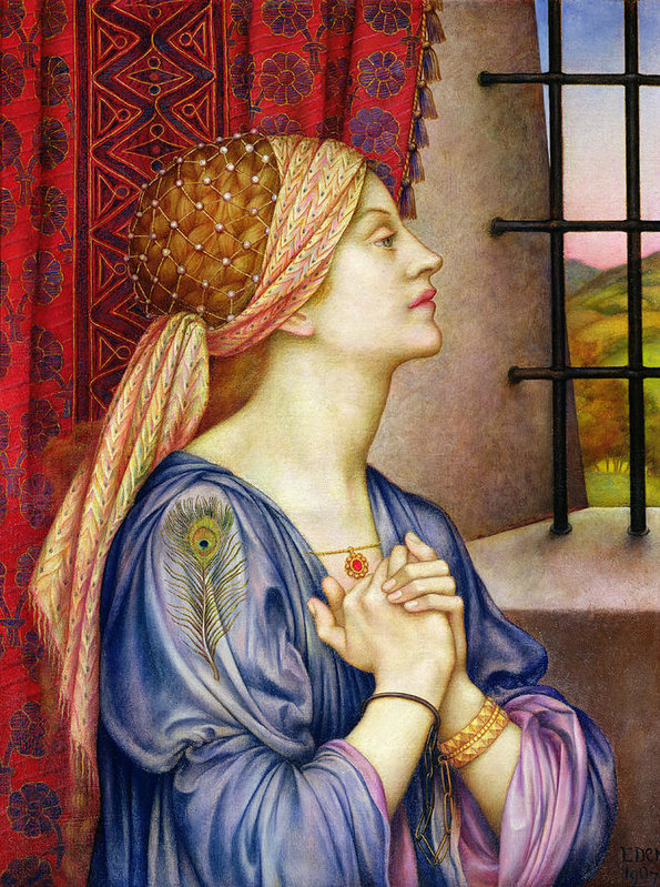 'The Prisoner', Evelyn De Morgan