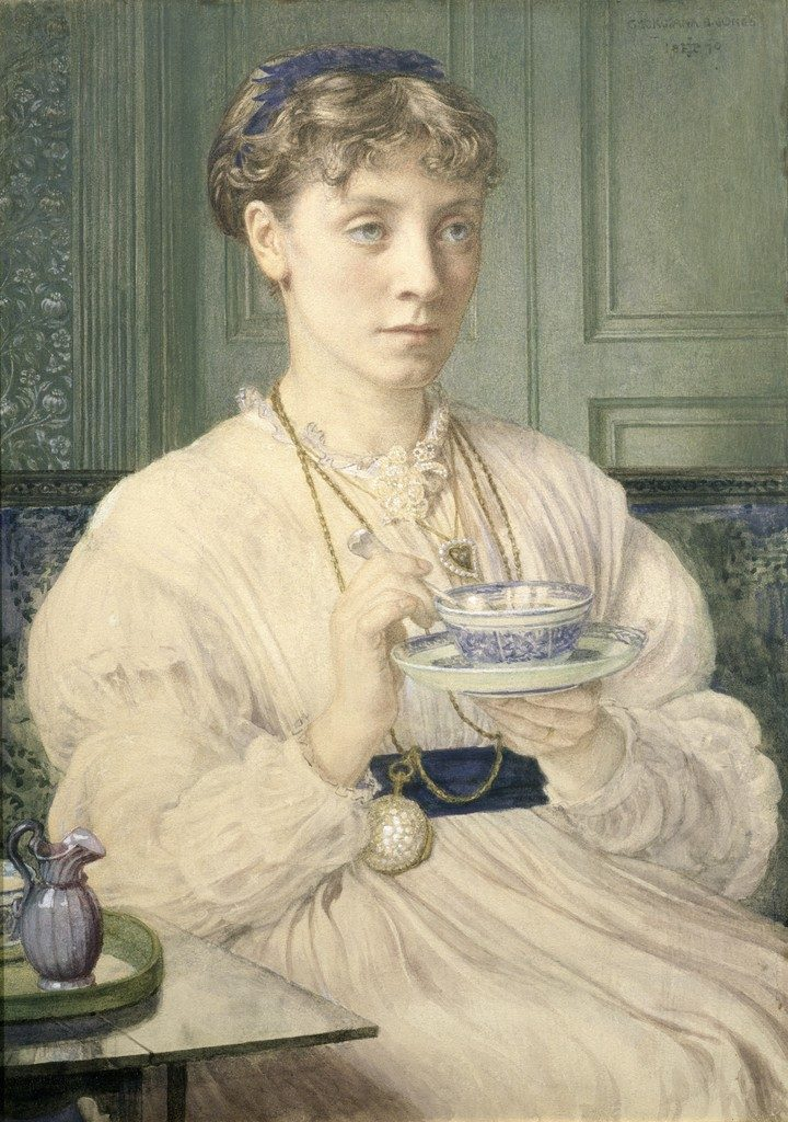 Edward Poynter's portrait of Georgiana Burne-Jones
