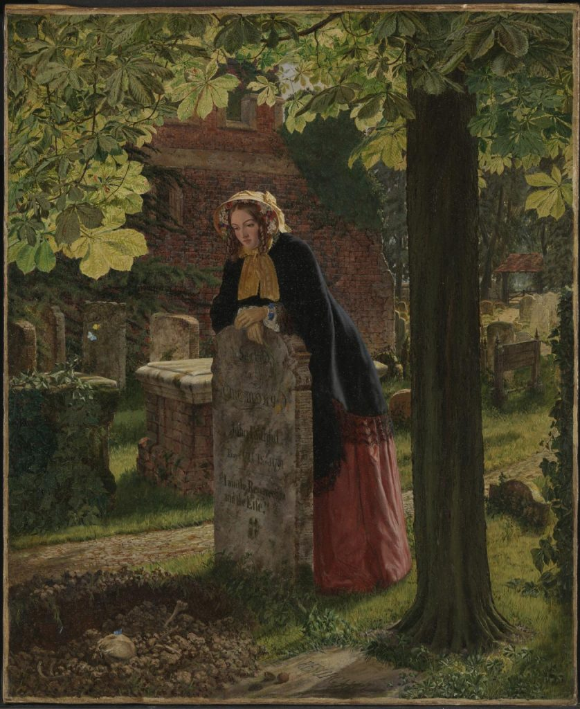 The Doubt: 'Can these Dry Bones Live?' exhibited 1855 Henry Alexander Bowler 1824-1903 Presented by H. Archer Bowler 1921 http://www.tate.org.uk/art/work/N03592