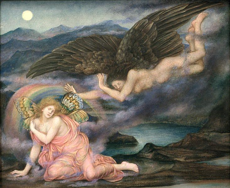 'Death of a Butterfly', Evelyn De Morgan