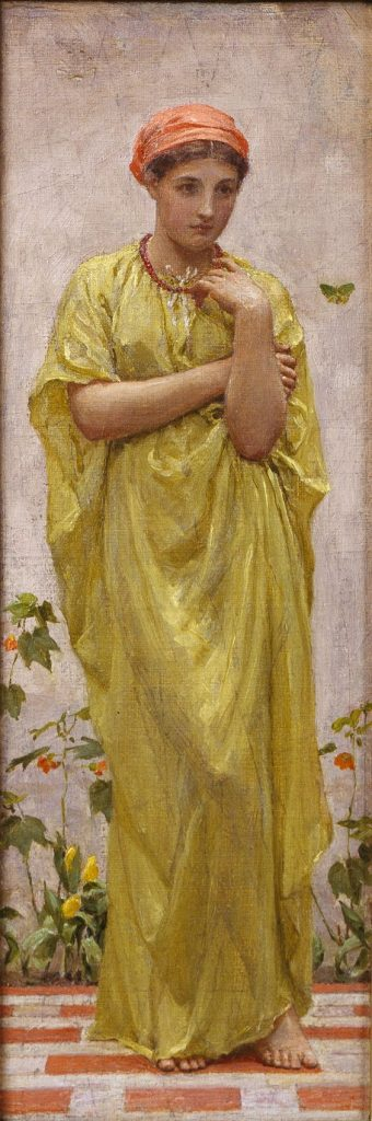 'The Green Butterfly', Albert Joseph Moore