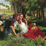 'The Hireling Shepherd', William Holman Hunt