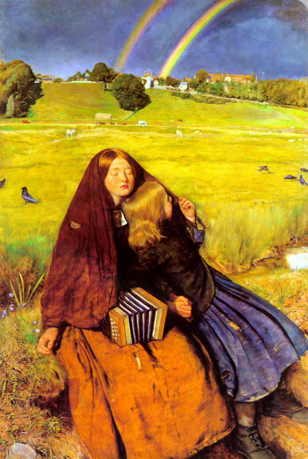 'The Blind Girl', Sir John Everett Millais