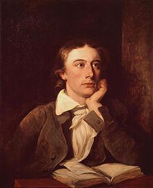 John Keats ( 31 October 1795 – 23 February 1821)