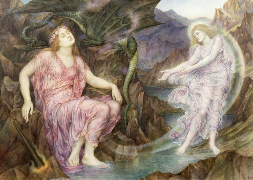 'The Passing of the Soul at Death', Evelyn De Morgan