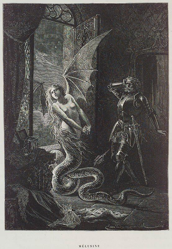 'Melusine', Gustave Doré