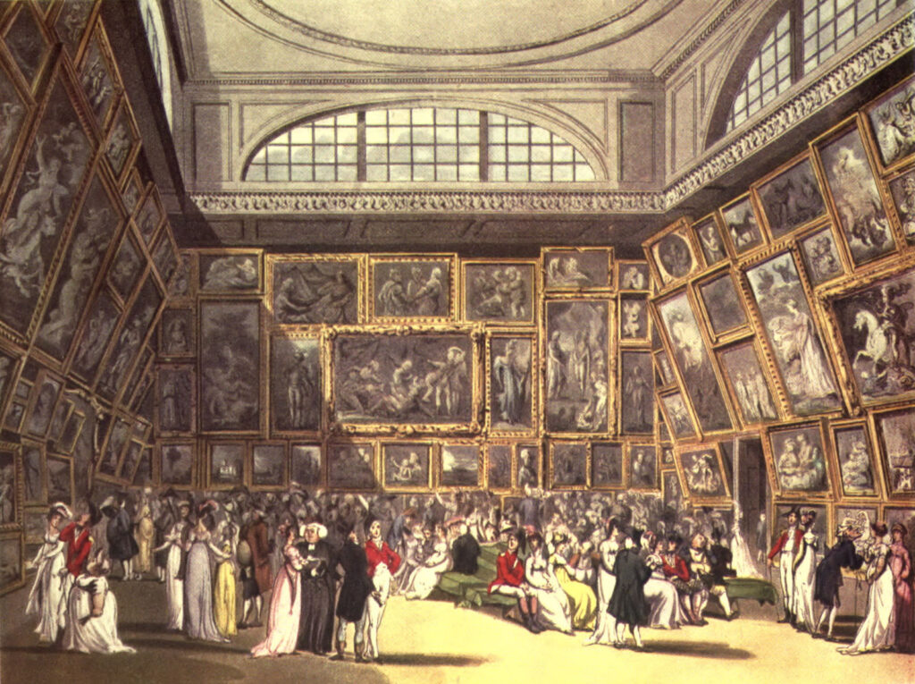 Microcosm of London: Royal Academy Summer Exhibition
