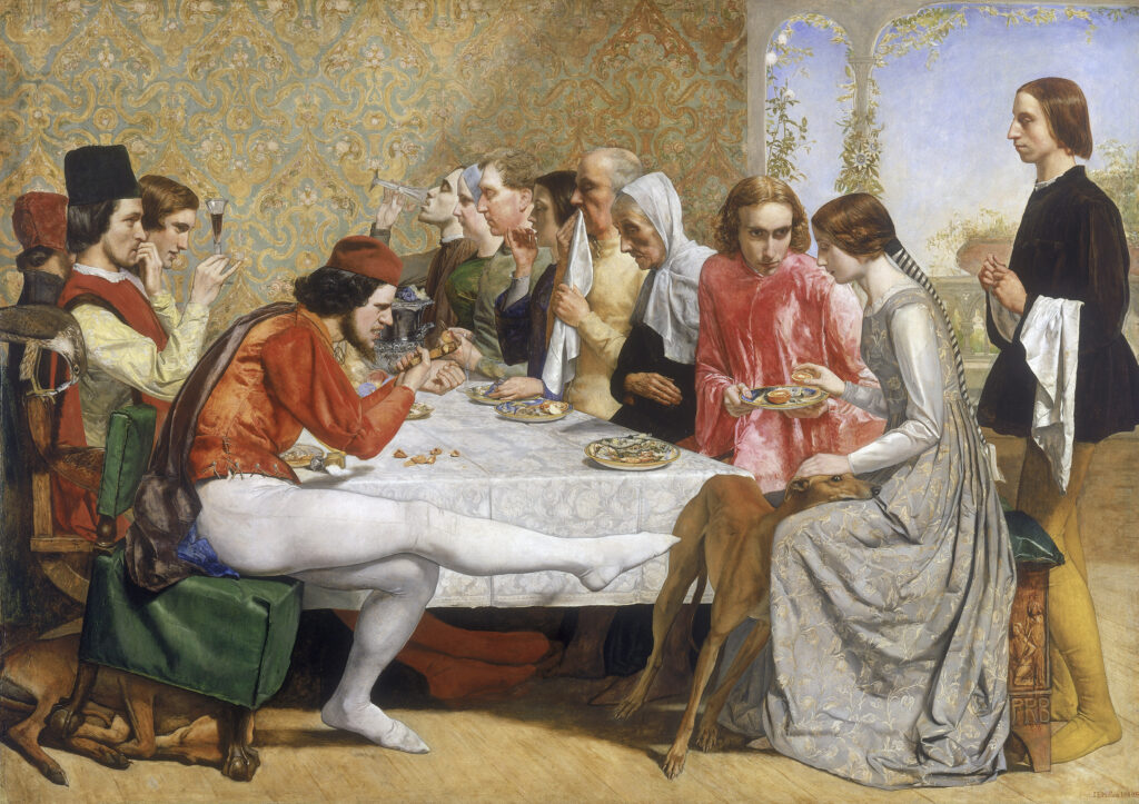 Lorenzo and Isabella, Millais
