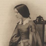 Georgiana Burne-Jones in 1856.