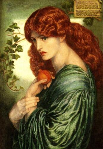 Proserpina,Dante Gabriel Rossetti