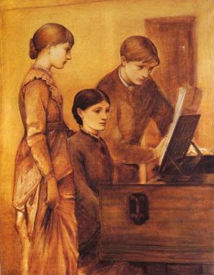 The Burne-Jones Family: Georgie with her children Philip and Margaret