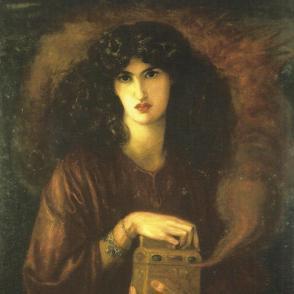 Pandora, Dante Gabriel Rossetti.