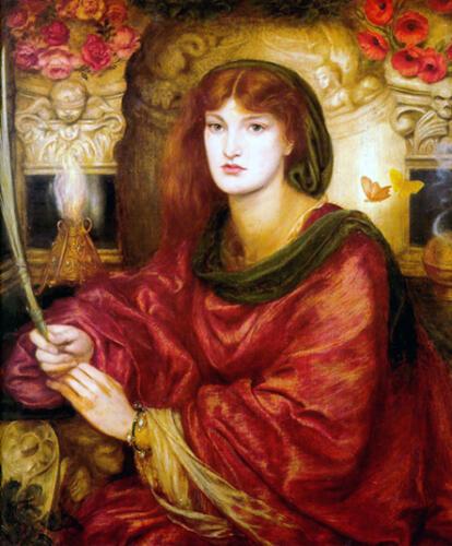 Sybilla Palmifera, Dante Gabriel Rossetti
