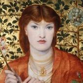 Rossetti's 1866 version of Regina Cordium