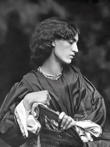 1865 Photograph of Jane Morris